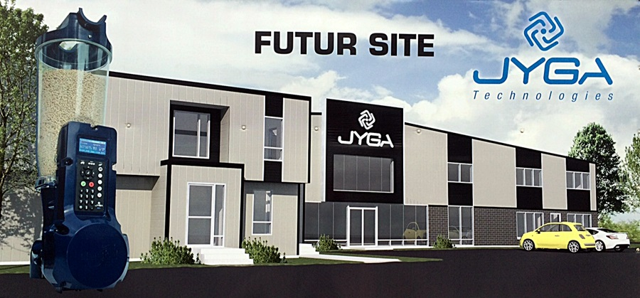 JYGA Technologies new office